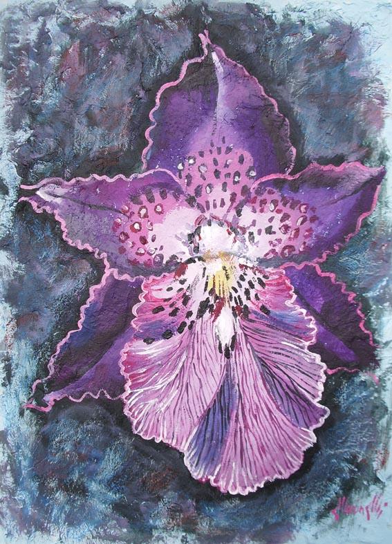 Quadri di fiori for Quadri fiori stilizzati